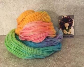 Rainbow Dream! Hand dyed yarn.