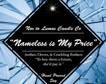 Nameless is my Price