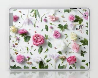Pink Flower Petals iPad Skin, Pink Flower Petals iPad Mini Skin, Pink Floral iPad Cover, Nature iPad Skin, Beautiful Garden iPad Mini Skin