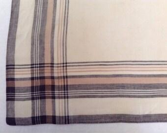 Vintage Handkerchief / Man's Plaid