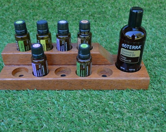 Essential Oil Display Stand, Oil Display for doTERRA oils, Oil ShelfEssential Oil storage shelf