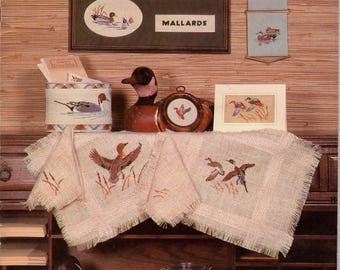 The Duck Pond Cross Stitch Book From Country Cross-Stitch, Inc. - Book 10