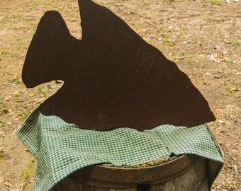 Rustic Arrowhead Primitive Unique Wood Cutout