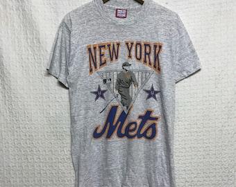 Vintage 80s 90s new york ny mets top tee /la lakers/la dodger/super bowl/rare/