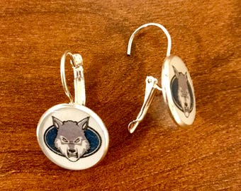 West Clermont Wolves Earrings