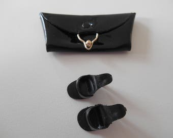 Accessorize: Black Pak Purse and Japan Heels to Match
