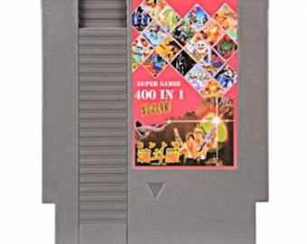 400 In 1 Super Games 8 bit NES Game Cartridge