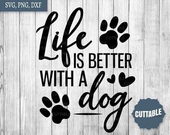 Dog Lover Svg Etsy