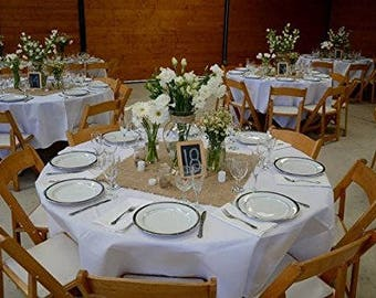 "Burlap Squares, Centerpieces, 1 Dozen Jute Burlap 20"" x 20"", Wedding Table Decor, Burlap Placemats, Burlap Colored."
