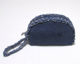 Swaraj Bag ARROW embroidery dangariporch - DENIM make Purch denim