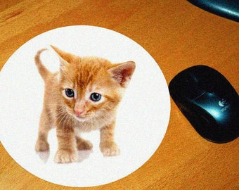 Cat model 8 mouse pad