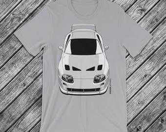 JDM Toyota Supra A80 2JZ Stance T Shirt