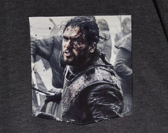 Jon Snow - Game of Thrones - Pocket T-shirt
