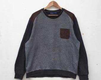 EVISU Jeans Multicolor Design Evisu Japanese Brand Sweatshirt XXLarge Size #812