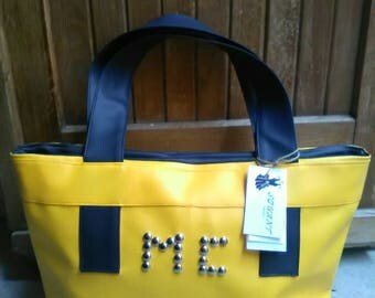 LOULOU bag personalized with initials
