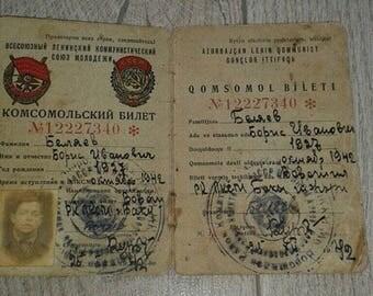 komsomol ticket