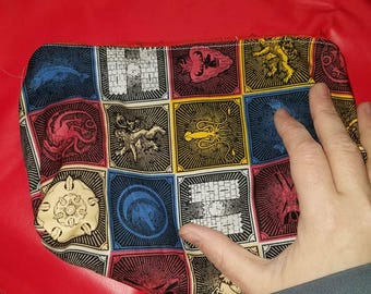 Game of Thrones House Sigils makeup or toiletry bag - travel kit unisex