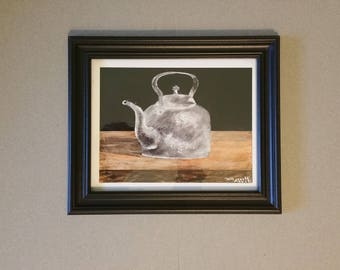 Silver Kettle - Limited Print