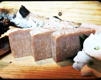 Sandalwood-Vanilla Bourbon All Natural Handmade soap bar