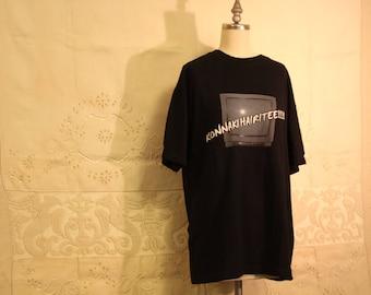 """Vintage Japanese """"Konnaka Hairitee!!!!!"""" T Shirt"""