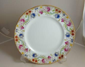 Doulton Burslem Luncheon Plate Melrose Pattern 1898