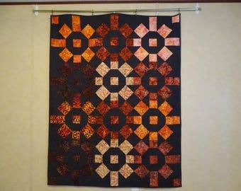 West Virginia Sunrise / Sunset in Batik fabrics