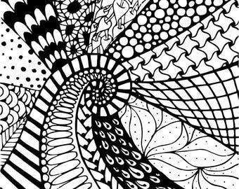Silk screen stencil No. 45