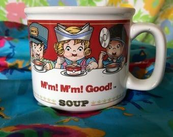 90s Vintage Campbell's Soup Mug