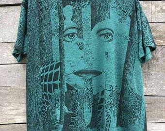 Vintage styx grand ilussion promo tour shirt 90s all over print