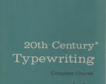 Summer Sale 20th Century Typewriting Complete Course T50 Seventh Edition 1957