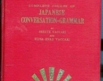 Summer Sale Complete Course of JAPANESE Conversation-Grammar 1956 Tokyo