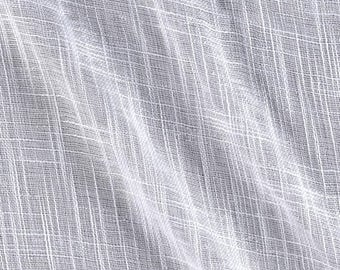 Faux Linen Sheer, extra wide 110 inch fabric, curtains, drapes