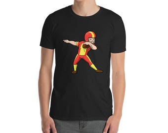 Dabbing Football player T-shirt - dabbing - dabbing t-shirt - dabbing shirt - dabbing t shirt - t-shirt - dab t-shirt - funny t shirt - funn