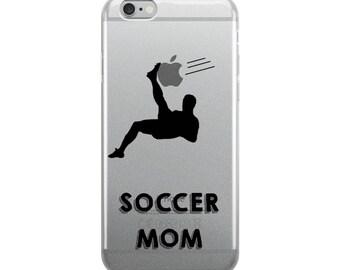 Soccer Mom iPhone Case - Iphone 7 case - Iphone 8 case - Iphone 7 plus case - Iphone 6 case - Iphone X case