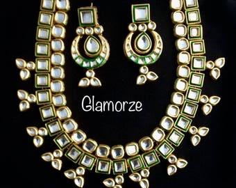 Kundan Jewelry, Kundan set, Pakistani Jewelry , Indian Jewelry, Bollywood Jewelry, Asian Bridal set , Punjabi Jewelry,Indian Jewellery US