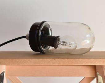 Lampe globe Bakélite