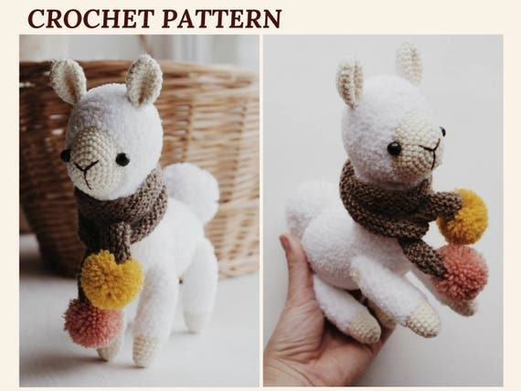Alpaca crochet pattern llama amigurumi pattern cuddle toy alpaca crochet pattern llama amigurumi pattern cuddle toy stuffed animal english pattern pdf dt1010fo