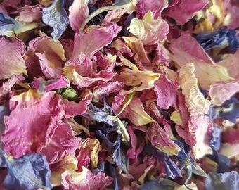 Purple Haze Natural Real Petal Biodegradable Confetti