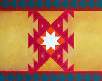 Southwest Native American Art Print