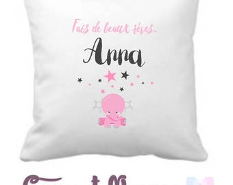 BABY pillow - baby - birthday gift personalized gift idea