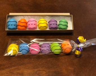 Easter Half Egg Crayon Gift Set- Easter basket gift- Easter present-