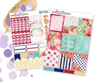Be You (EC) Kit - Planner stickers happy planner erin condren