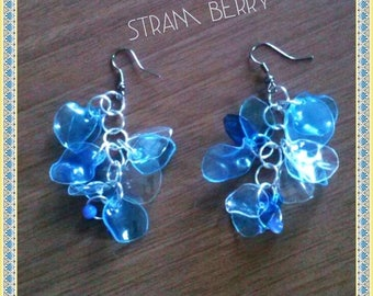 Cloud earrings created with pet