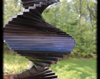 18 Inch Thin Blue Line Wind Spinner