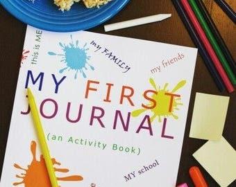 My First Journal | An Activity Book for Children