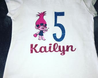 Kids TROLLS Birthday shirts!