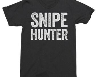 Snipe Hunter Shirt, Camping Shirt, Camping Tee Shirt, Funny Camping Tee, Funny Camping Tops, Hiking Tee Shirt, Hiking Shirt, Camping Gift