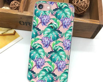 iPhone leaves case,iPhone 8 plus case,case for iPhone,iPhone 7 plus,iPhone 6 plus,iPhone 8 case,flowers,palm,iPhone SE case,5s case,iPhone 7