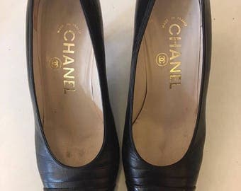 Black Chanel Shoes