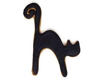 Halloween Black Cat Cookie Cutter